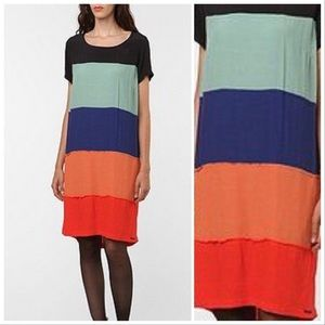 Anthropologie Dresses - Anthropologie NUMPH colorblock Ajude dress, 10.